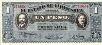 Mexique 1 Peso, Fransisco Madero - A gonzalez - 1914