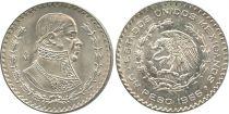 Mexique 1 Peso J.M. Morelos - Emblème national
