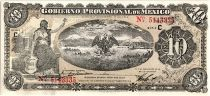 Mexique 10 Pesos Liberté - Volcan - Aigle et serpent - 01/12/1914