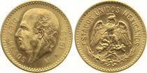 Mexique 10 Pesos Miguel Hidalgo y Costilla - Emblème national 1959 (Refrappe 2000-2009)