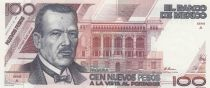 Mexique 100 Pesos Plutarco Elias Calles - 1992 - Petit numéro A 0004013