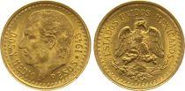 Mexique 2 1/2 Pesos 2 1/2 Pesos, Miguel Hidalgo y Costilla - Emblème national 1945 (Refrappe 2000-2009)