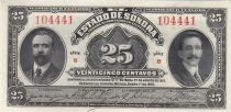 Mexique 25 Centavos  - 1915