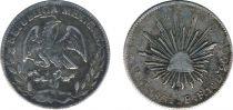 Mexique 4 Reales Mexique - Première République (1821-1863)
