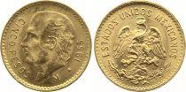 Mexique 5 Pesos Miguel Hidalgo y Costilla - Emblème national 1955 (Refrappe 1955-1972)