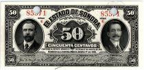 Mexique 50 Centavos I. Madero, J.M. Pino - 1915