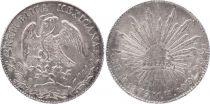 Mexique 8 Reales Emblème national - 1879 Mo MH Mexico