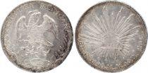 Mexique 8 Reales Emblème national - 1890 Ca MM Chihuahua