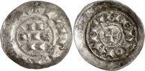 Milan Denier, City of Milan - Henri III, IV & V of Franconia (1039-1125)