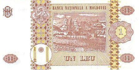 Moldavie 1 Leu Roi Stefan