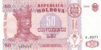 Moldavie 50 Lei Roi Stefan - 2008 - P.14 - Neuf