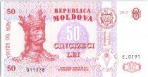 Moldavie 50 Lei Roi Stefan - 2013