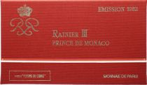 Monaco  Set of 11 coins Rainier III - 1982