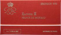 Mónaco  Set of 11 coins Rainier III - 1982