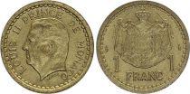 Monaco 1 Franc Louis II - Armoiries - ND (1943) - SPL