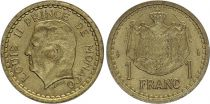 Monaco 1 Franc Louis II - Armoiries - ND (1943) - SPL