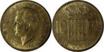 Monaco 10 Francs Rainier III - 1950 Essai - Tirage 1.700 ex