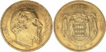 Monaco 100 Francs Charles III - 1884 A Or