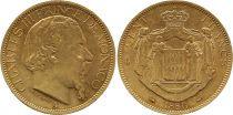 Monaco 100 Francs Charles III - 1886 A Or