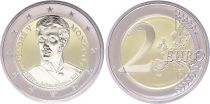 Monaco 2 Euro, Honoré V - Proof 2019 - WITHOUT BOX AND WITHOUT CERTIFICATE