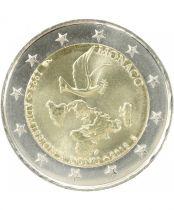 Monaco 2 euros UN Membership 20 th anniversary - 2013 - From roll