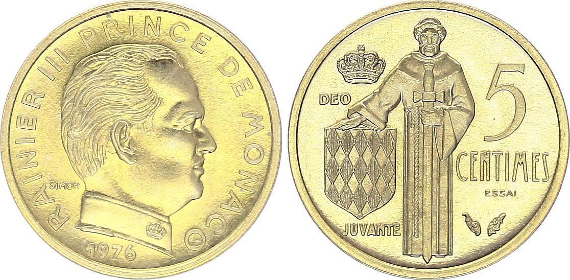 Monaco 5 Centimes Rainier III - 1976 - MC 145