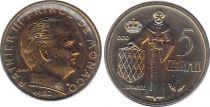 Monaco 5 Centimes Rainier III - 1982