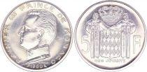 Monaco 5 Francs, Rainier III - 1960  Essai - Gad MC 152