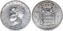 Monaco 5 Francs Rainier III - 1960-1966 SILVER