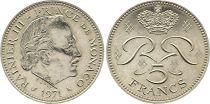 Monaco 5 Francs Rainier III - 1971