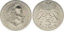 Monaco 5 Francs Rainier III - 1974
