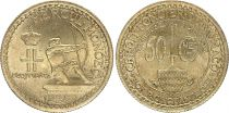 Monaco 50 Centimes Heracles Archer - 1924