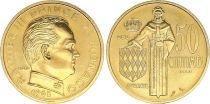 Monaco 50 Centimes Rainier III - 1962 - Essai -OR