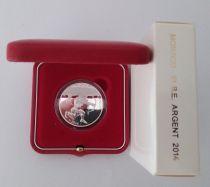 Monaco Coffret 10 Euros Hercule - Heracles 2014 - Argent - BE