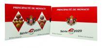 Monaco Coffret BU Euro - Monaco  8 pièces - 2020