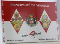 Monaco Coffret BU Euro - Monaco  8 pièces - Prince Rainier -  2002