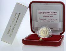 Monaco Coffret Monaco - 2 euros BE 2012 - Cinq siècle de souveraineté