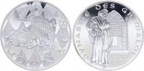 Monaco Medal - 700 years of Grimaldi - 1297-1997 - Silver