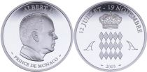 Monaco Medal - Albert II 2005 - Silver