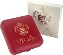 Monaco Série 3 pièces BU 2005 - 1, 2 et 5 cent coffret BE