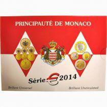 Monaco Série 8 pièces BU 2014 - Albert