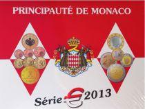 Monaco Série 9 pièces BU 2013 - Albert