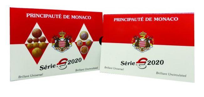 Monaco Set BU Euro - Monaco 8 coins - 2020