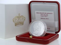 Monaco Set Monaco - 10 euros BE silver 2012 - Honore II 400 th anniversary of rule