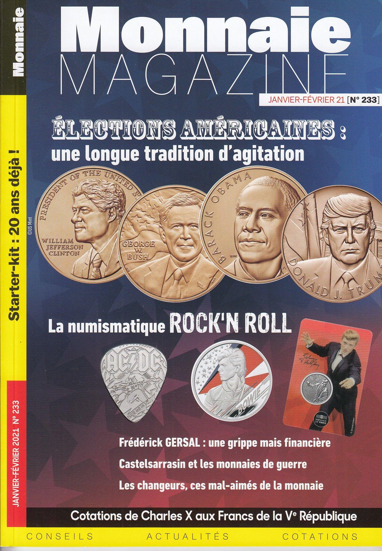 Monnaie Magazine - Janv-Février 2021 - n°233