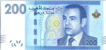 Morocco 200 Dirhams Mohamed VI - Lighthouse Tangier - 2012