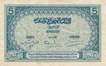 Morocco 5 Francs Blue and green - 1924 - Serial C.4323 -  VF - P.9