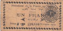 Morocco 50 Centimes Protectorat - 1909 - Fine - P.6