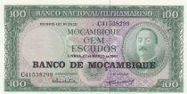 Mozambico 100 Escudos Aires de Ornelas - 1976