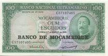 Mozambico 100 Escudos Aires de Ornelas
